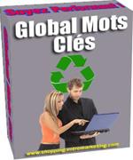 Comment VOS visiteurs sont arrivés sur votre Site? Par quels Mots Clés? Global Mots Clés est une aide Précieuse pour le référencement et l'Optimisation des pages de vos Sites!